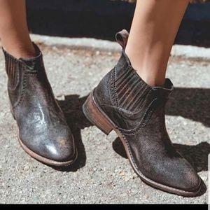 NWOT Bed Stu Ellice Leather Black Bootie